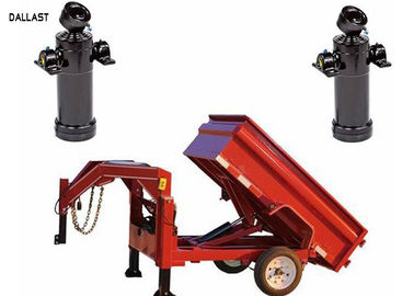 Double Acting Piston Lifting Under Body Hoist Dump Truck Hydraulic Cylinder